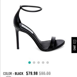 Steve Madden Shoes - Super sexy and elegant black Heeled Sandals US 8.5